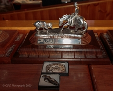 Traveling Trophy and Buckles