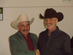Robert Krentz - Open and Non-Pro Champion & Russ Hall - $3000 Novice Horse and $10,000 Novice Horse Champion