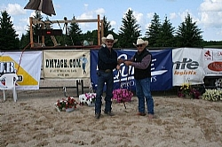 Dennis Moreland Bridle Winner - Russ Hall